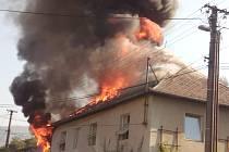 Požár ve Fryštáku  - Vítové.