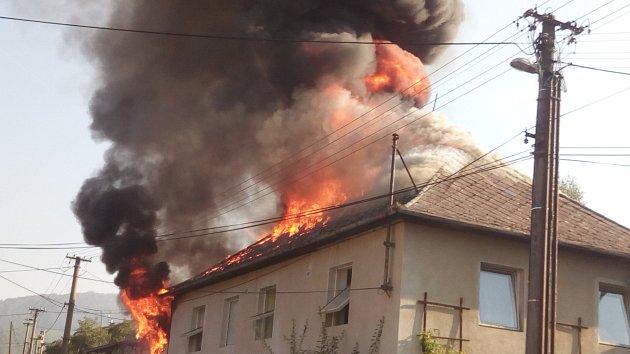 Požár ve Fryštáku - Vítové