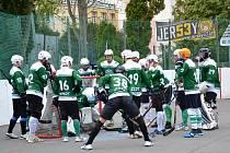 2. liga hokejbal Malenovice - SK Jihlava B