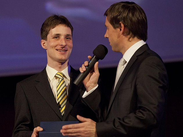Jiří Hradil, nejlepší sportovec města Zlína za rok 2011.