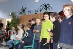 Vánoční setkání žáků 3.C ze Základní školy Mikoláše Alše ve Zlíně