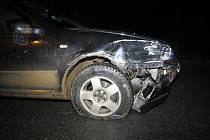 Mladý muž boural u Slušovic, v krvi měl 2,6 promile.