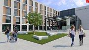 Vizualizace nové krajské nemocnice
