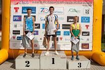 orientační běžci OB Luhačovice na MČR ve sprintových štafetách a ve sprintu