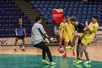 Premiérový ročník fotbalového turnaje Winter-Cupu ve zlínské hale Euronics ovládl první lednovou neděle tým Bjedne stroje.