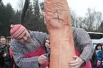 V sobotu 15. března se na hrázi luhačovické  přehrady, konala akce s názvem Luhačovická zabijačka 2014