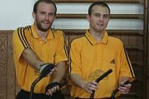 Jiří Landt na fotografii vpravo