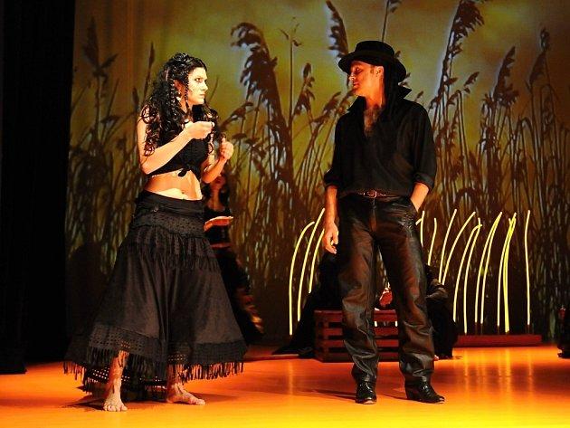 Talentovaná herečka Pavlína Vašková ztvární hlavní představitelku ve stejnojmenném muzikálu Carmen.