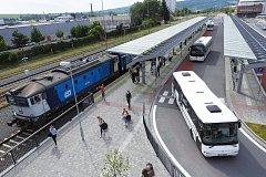 DOPRAVNÍ TERMINÁL UHERSKÝ BROD – II. ETAPA. Hlavní cena v kategorii Dopravní, inženýrské a ekologické stavby.