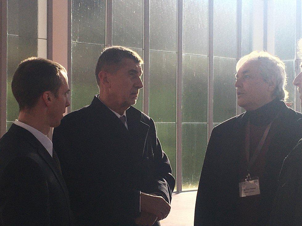 Při své poslední návštěvě Zlína si premiér Andrej Babiš prohlédl nově zrekonstruovaný Památník Tomáše Bati.