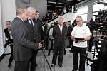 Návštěva prezidenta Miloše Zemana ve Zlíně. 14–14 Baťův institut