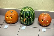 Týden zdraví a výstava dýní v základní škole ve Štípě.
