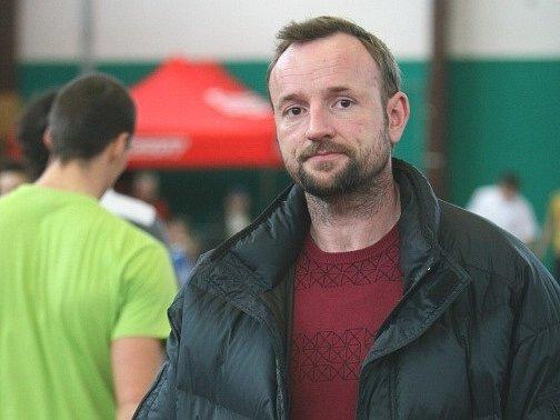 Tomáš Dvořák na otrokovickém atletickém mítinku.
