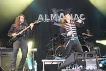 V neděli 15. listopadu 2015 se ve zlínské hale Euronics konal další ročník zimní verze Masters of Rock 2015. Na snímku je kapela Almanac.