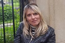 Martina Hvozdenská, zdravotní sestra a předsedkyně Odborového svazu zdravotníků Krajské nemocnice T. Bati (KNTB).