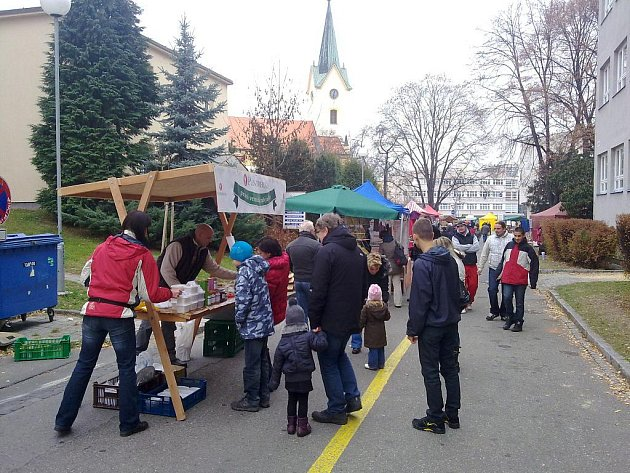 Farmářské trhy ve Zlíně