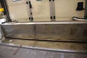 Den otevřených dveří v Continental Barum - Sklad chemikálií a tekutých látek. Sklad je uzavřený, podlaha nepropustná, chemicky odolná. Vjezd do skladu je vybaven automat. Bariérou, která v případě úniku látekzajistí jejich zadržení v objektu.