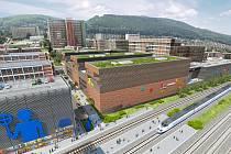 Nové zlínské obchodní centrum 24-25-26 FABRIKA má nabídnout  prestižní kancelářské prostory, byty nejvyšší kategorie, přes 3 kilometry obchodních pasáží světových značek, zábavní část nejen pro rodiny s dětmi, ale i možné prostory pro vzdělávací instituce