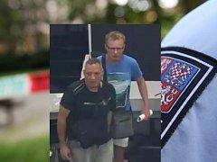 Zlínská policie pátrá po těchto dvou mužích.