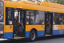 Trolejbus DSZO. Ilustrační foto