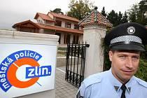 Nová služebna městké policie u zlínské zoo