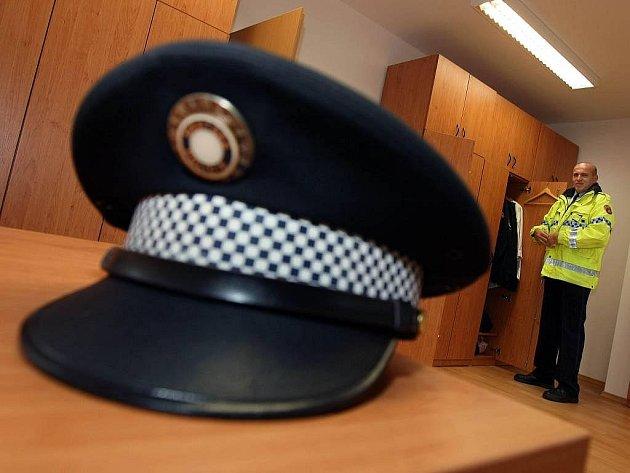 Služebna zlínské městké policie