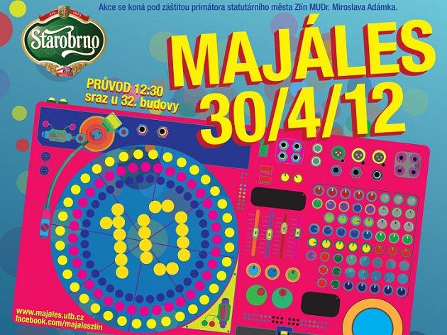 Majáles 2012 - plakát