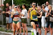 Tomáš Navrátil v Olomouckém půlmaratonu 2019