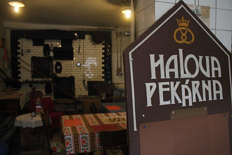 Halova pekárna ve Vizovicích v říjnu 2020.