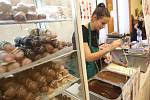 Čokoládový trh.