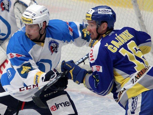 Hokej Plzeň - Zlín