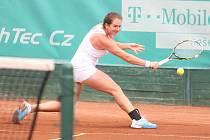V pátek se na zlínských tenisových kurtech odehrálo čtvrtfinále turnaje žen Smart Card Open Monet +, který je dotován 25 tisíci amerických dolarů.