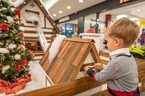 Vánoční pošta v Obchodním domě
