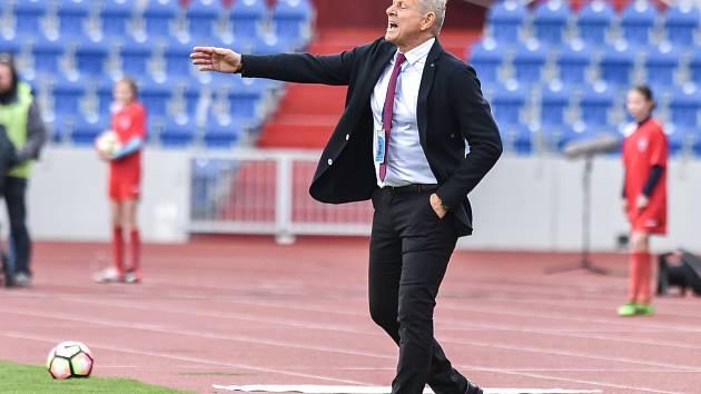 Trenér Vlastimil Petržela.