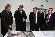 Premiér v demisi Andrej Babiš zavítal v pondělí 5. března 2018 během návštěvy zlínského kraje do Vsetína.