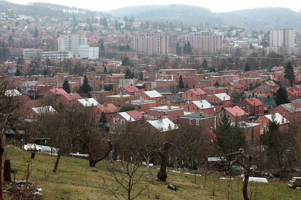 Zahrádkářská kolonie Burešov ve Zlíně; sobota 27. března 2021