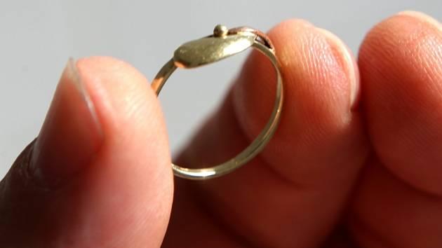 Zlatý prstýnek Zuzany Molkové
