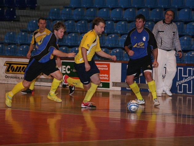 Futsal Zlín (ve žlutém). Ilustrační foto