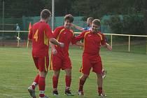 Fotbalisté Mladcové se blýskli parádním obratem. Ilustrační foto.