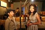 Natáčení se proměnilo na chvíli na expedici Indiana Jonese.