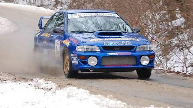 Ve stopě valašské zimy 2011 - vítěz Jaroslav Podešva
