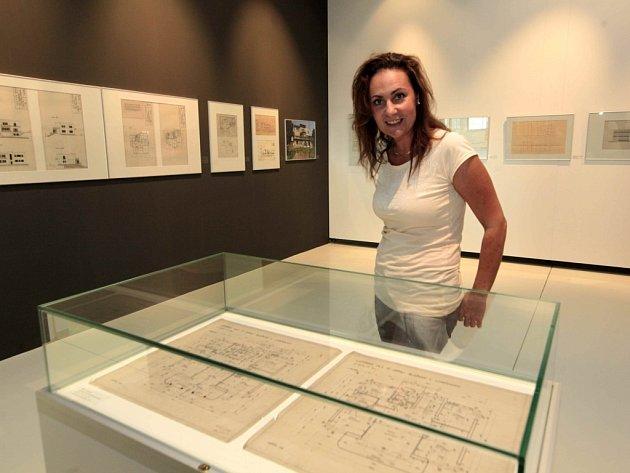 Výstava Viktor Jandásek stavitel ve Zlíně v grafickém kabinetu Krajské galerie ve Zlíně.