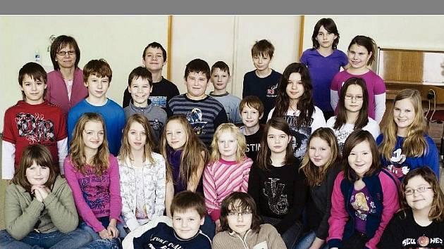 Děti z 5. A zlínské Základní školy Mikoláše Alše