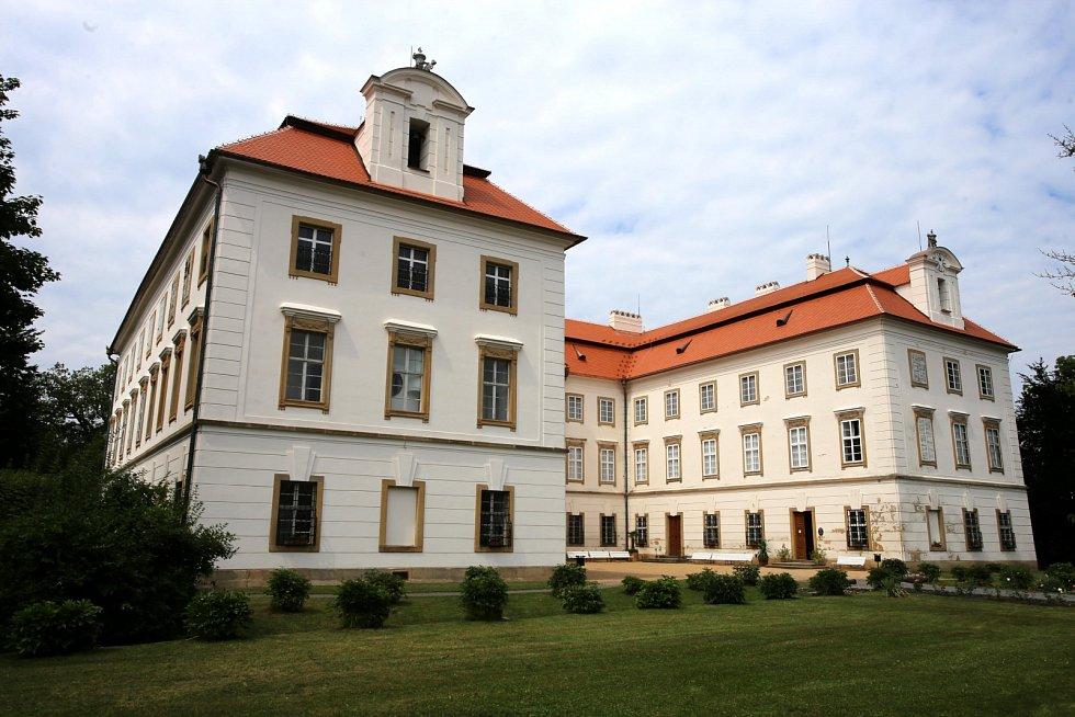 Zámek Vizovice.