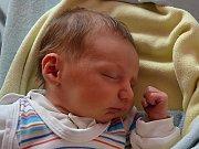 Michaela Bartošková z Kroměříže se narodila 15.3.2012, 47 cm a 2800 g