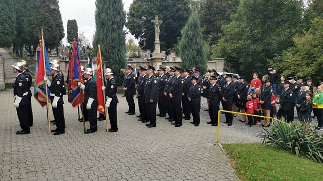 První hasičská pouť Vlll. okrsku v Želechovicích nad Dřevnicí