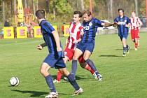 Ilustrační foto ze zápasu FC Elseremo Brumov - TVD Slavičín