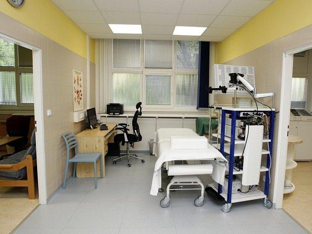 Otevření gastroenterologického oddělení v nemocnici Atlas ve Zlíně.