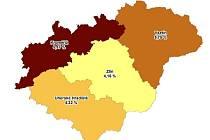 Nezaměstnanost ve Zlínském kraji za červenec 2016