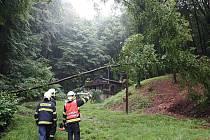 Profesionální i dobrovolní hasiči ve Zlínském kraji vyjížděli k sérii hlášených případů.